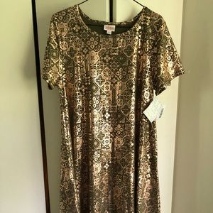 LuLaRoe elegant Carly dress